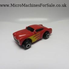 Cadillac Cadzilla custom (Red_yellow flames on door)
