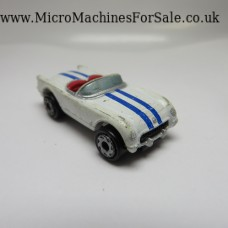 Chevrolet 54 corvette (White with blue stripes)