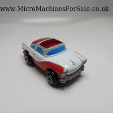 Ford 56 crown victoria skyliner (white, blue windows)