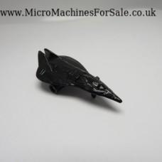 Stealth fighter concept, mini (Black)