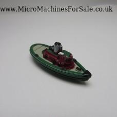 Tug Boat (Green, small port hole paint)