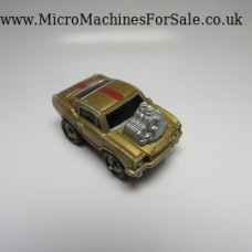 Ford 65 mustang Hot Rod (Gold, Red stripes)