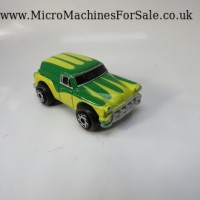 Chevrolet 53 delivery sedan (Green and Yellow)