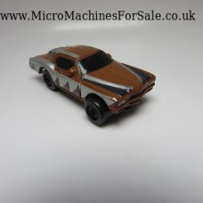 Buick riviera boat tail (Brown, Silver and Black)