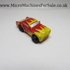 Cadillac Cadzilla custom (Red_yellow flames)