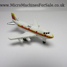 Boeing 747 mini (White, Yellow and Red decoration)