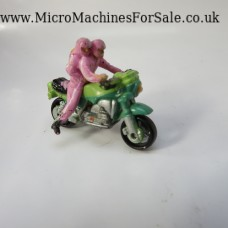 BMW K-100 (Green, Pink figures)