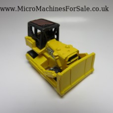 Bulldozer (Yellow, Black roof with Red stripes)