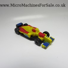 Formula 1 Blunt nose (Yellow, Red 5 car)