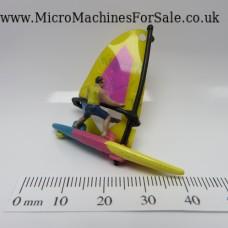 Windsurfer (Blue, Pink & Yellow)